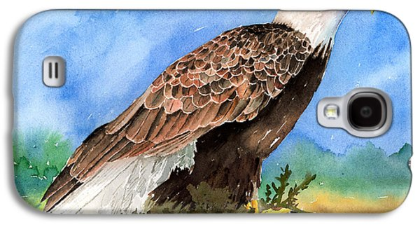 Eagle Paintings Galaxy S4 Cases - Freedom Galaxy S4 Case by Arline Wagner
