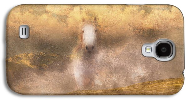Mystical Landscape Mixed Media Galaxy S4 Cases - Freedom Galaxy S4 Case by Georgiana Romanovna