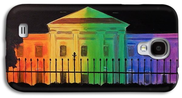 Discrimination Paintings Galaxy S4 Cases - Freedom House Galaxy S4 Case by Marvin Pike