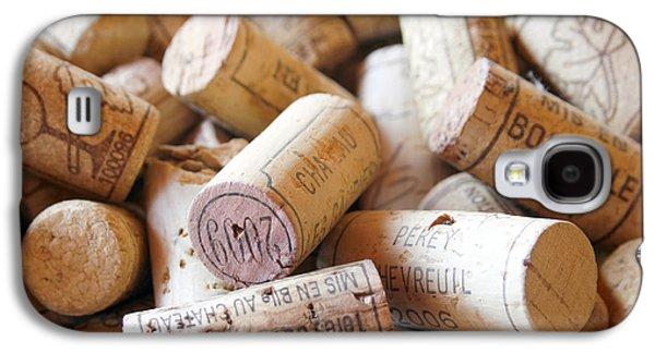 French Wine Corks Galaxy S4 Case by Georgia Fowler