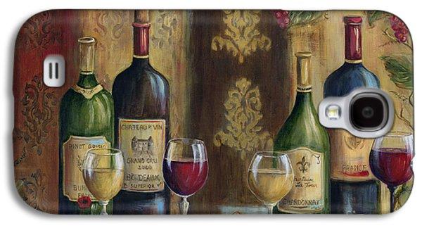 French Wine Tasting Galaxy S4 Case by Marilyn Dunlap