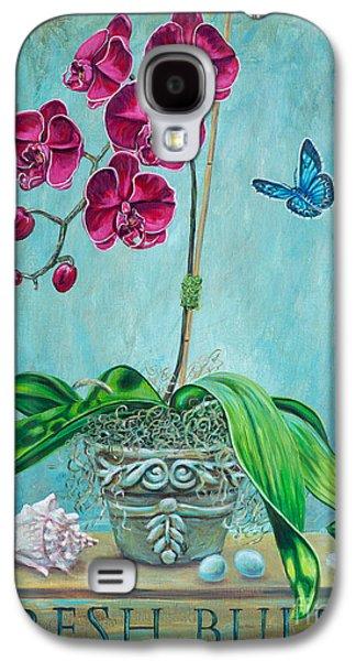 Spring Bulbs Paintings Galaxy S4 Cases - Fresh Bulbs Galaxy S4 Case by Danielle  Perry