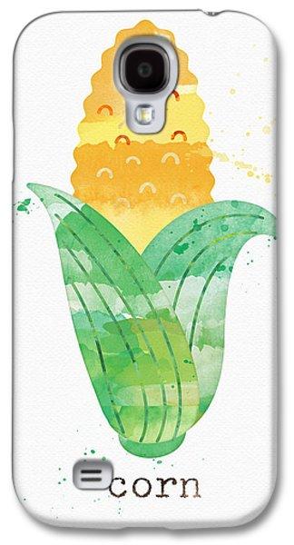 Fresh Corn Galaxy S4 Case by Linda Woods