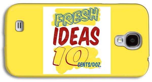 Grocery Store Galaxy S4 Cases - Fresh Ideas Galaxy S4 Case by Edward Fielding