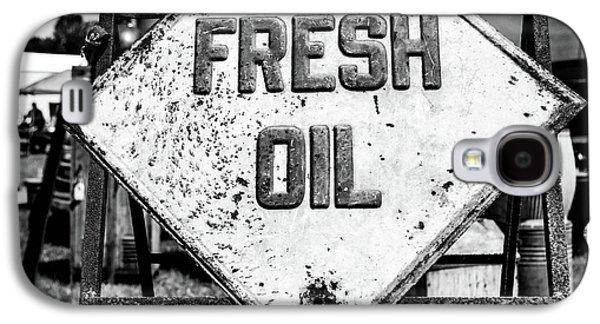 Fresh Oil Galaxy S4 Case by April Ann Canada