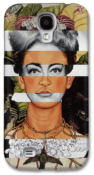 Frida Kahlo And Joan Crawford Galaxy S4 Case by Luigi Tarini