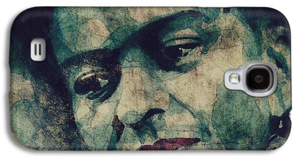 Painter Digital Art Galaxy S4 Cases - Frida Kahlo National Treasure Galaxy S4 Case by Paul Lovering
