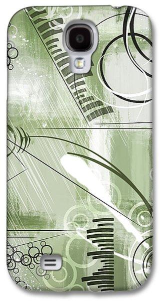 Abstract Digital Mixed Media Galaxy S4 Cases - Friday Galaxy S4 Case by Melissa Smith