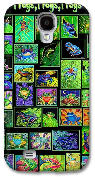 Frogs Poster Galaxy S4 Case by Nick Gustafson