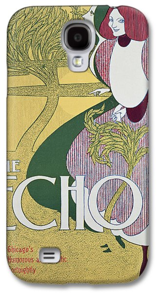 Front Cover Of The Echo Galaxy S4 Case by William Bradley