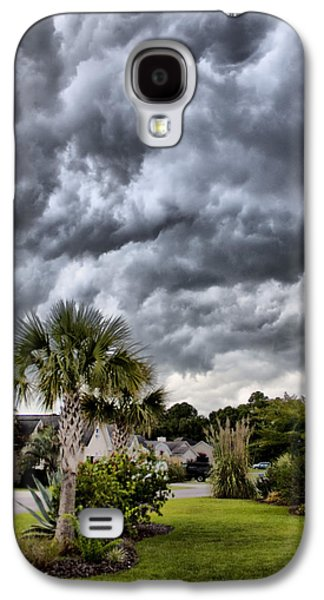 Frontal Galaxy S4 Cases - Frontal Clouds Galaxy S4 Case by Dustin K Ryan