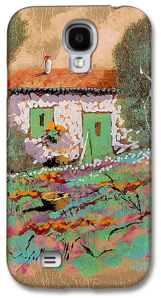White House Galaxy S4 Cases - Frontale Galaxy S4 Case by Guido Borelli