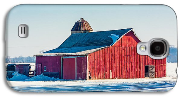 Frosty Farm Galaxy S4 Case by Todd Klassy