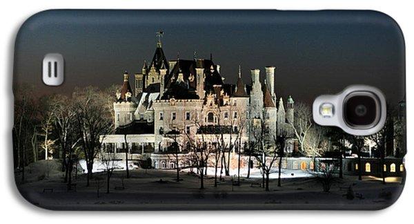 Castle Photographs Galaxy S4 Cases - Frozen Boldt Castle Galaxy S4 Case by Lori Deiter