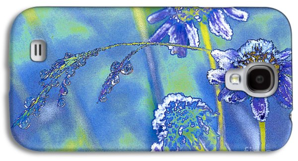 Nature Abstracts Galaxy S4 Cases - Frozen Dew Galaxy S4 Case by Robert Potts
