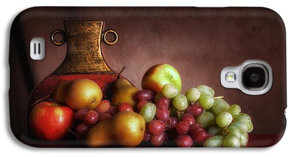 Fruit With Vase Galaxy S4 Case by Tom Mc Nemar