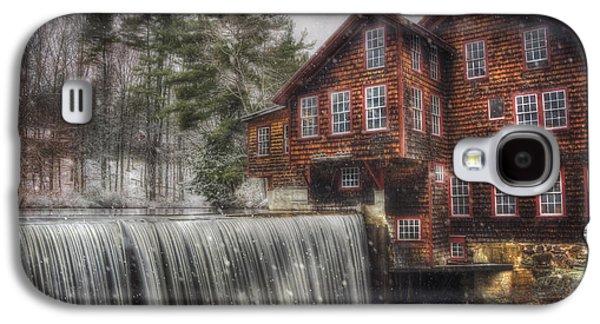 Frye's Measure Mill - Winter In New England Galaxy S4 Case by Joann Vitali
