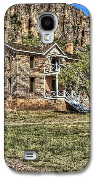 Ft. Davis Captains Quarters 14927 Galaxy S4 Case by Jerry Sodorff