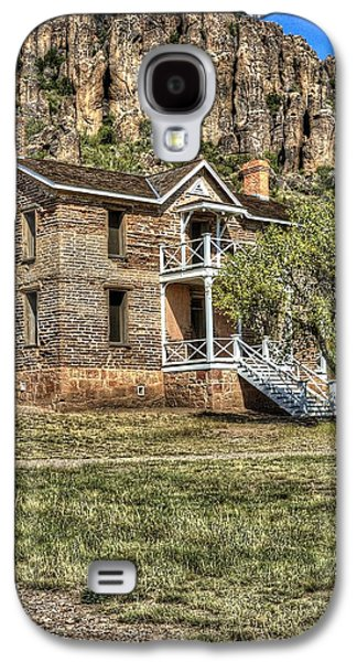 Captains Quarters Galaxy S4 Cases - Ft. Davis Captains Quarters 14927 Galaxy S4 Case by Jerry Sodorff