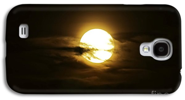 Moonrise Galaxy S4 Cases - Full Moon In The Night Sky, Sobreda Galaxy S4 Case by Miguel Claro