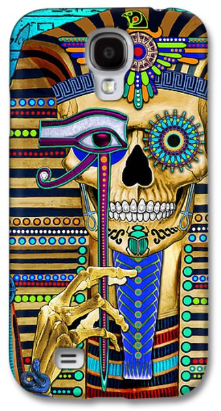 Funky Bone Pharaoh Galaxy S4 Case by Christopher Beikmann