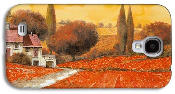 fuoco di Toscana Galaxy S4 Case by Guido Borelli