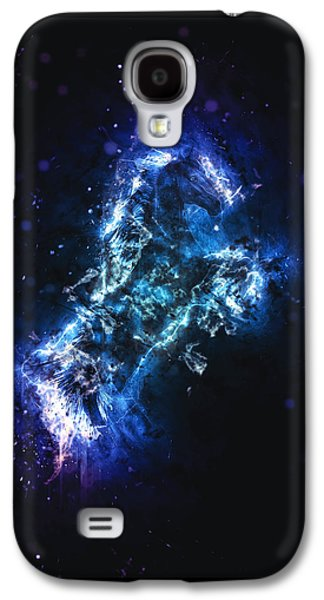 Fury Digital Art Galaxy S4 Cases - Fury Galaxy S4 Case by Methune Hively
