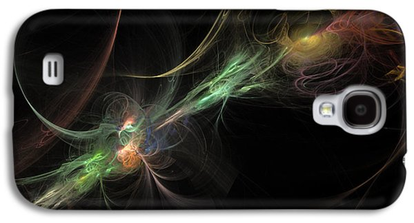 Abstract Digital Photographs Galaxy S4 Cases - Fusion Two Galaxy S4 Case by Andy Astbury