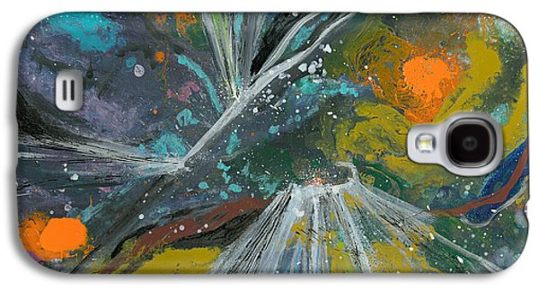 Galactic Hit And Run Galaxy S4 Case by Kim George