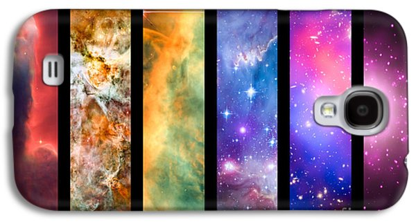 Astral Galaxy S4 Cases - Space rainbow Galaxy S4 Case by Delphimages Photo Creations