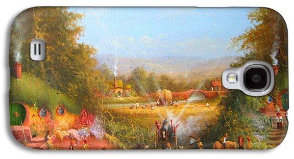 Gandalf's Return Fireworks In The Shire. Galaxy S4 Case by Joe  Gilronan