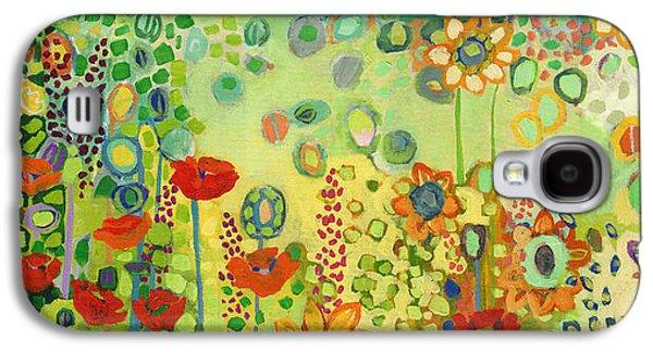 Garden Poetry Galaxy S4 Case by Jennifer Lommers