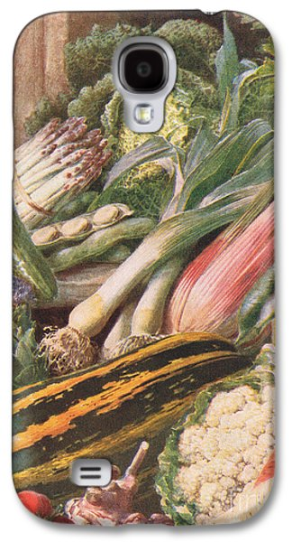 Garden Vegetables Galaxy S4 Case by Louis Fairfax Muckley