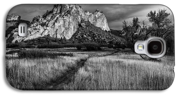 Landscape Acrylic Prints Galaxy S4 Cases - Garden Walk Galaxy S4 Case by Darren  White