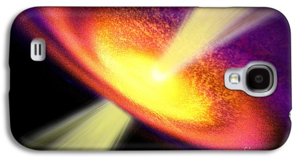Gas Jet Galaxy S4 Case by Corey Ford