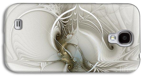 Fractal Image Galaxy S4 Cases - Gateway to Heaven-Fractal Art Galaxy S4 Case by Karin Kuhlmann