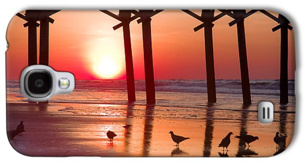 Topsail Galaxy S4 Cases - GATHERING the MORNING LIGHT Galaxy S4 Case by Karen Wiles