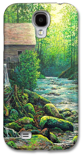 Gatlinburg  Tenessee Mill Galaxy S4 Case by Lou Ann Bagnall