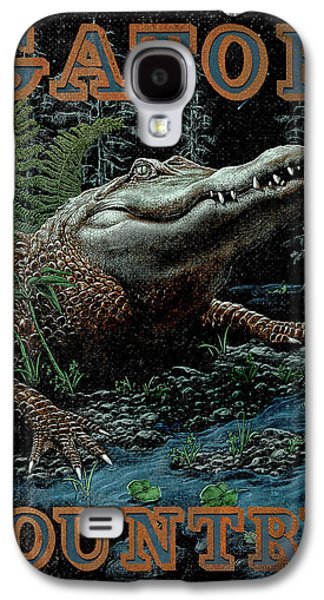 Gator Country Galaxy S4 Case by JQ Licensing