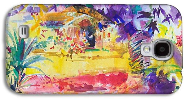 Gauguin's Garden Galaxy S4 Case by Peter Graham