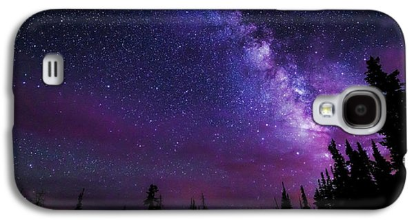 Galaxies Galaxy S4 Cases - Gaze Galaxy S4 Case by Chad Dutson