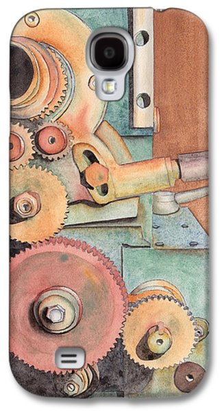 Machinery Galaxy S4 Cases - Gears Galaxy S4 Case by Ken Powers