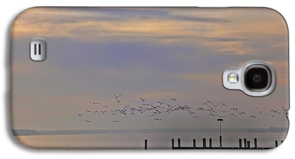 Geese Over The Chesapeake Galaxy S4 Case by Bill Cannon