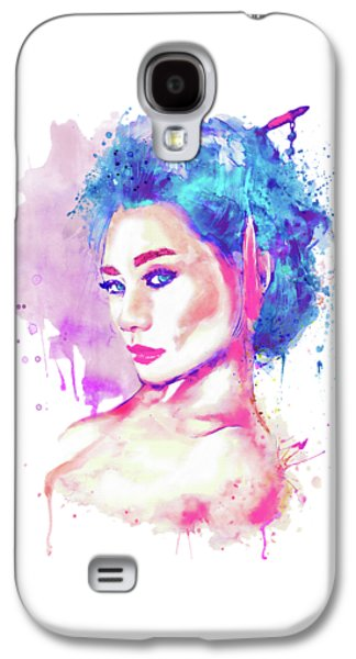 Geisha Girl Galaxy S4 Case by Marian Voicu
