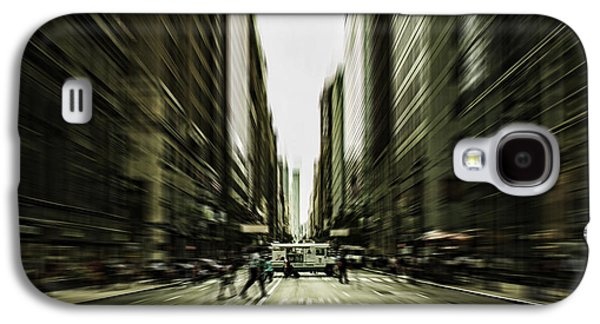 Business Galaxy S4 Cases - Gelati Rush Galaxy S4 Case by Andrew Paranavitana
