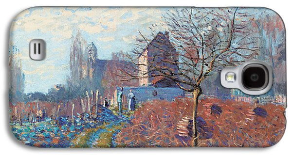 Gelee Blanche Galaxy S4 Case by Alfred Sisley