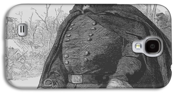 Politician Galaxy S4 Cases - General Ambrose Burnside Galaxy S4 Case by War Is Hell Store