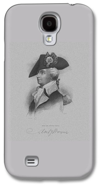 Army Mixed Media Galaxy S4 Cases - General Anthony Wayne Galaxy S4 Case by War Is Hell Store