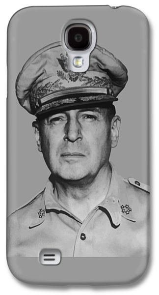 West Digital Galaxy S4 Cases - General Douglas MacArthur Galaxy S4 Case by War Is Hell Store