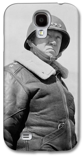 General George S. Patton Galaxy S4 Case by War Is Hell Store